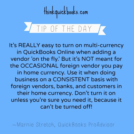 Don't turn on Multi-currency by Accident!